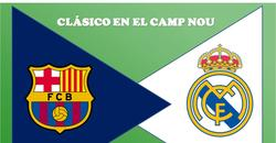 CLÁSICO Y RIVALIDAD EN CAMP NOU BARCELONA VS REAL MADRID